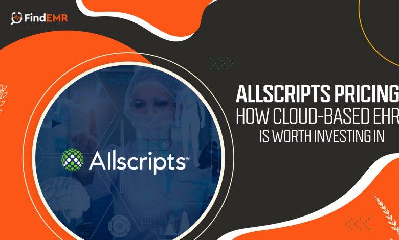 Allscripts Pricing