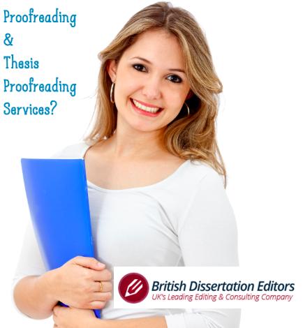 dissertation proofreading services uk