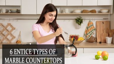 6 Entice Types of Marble Countertops