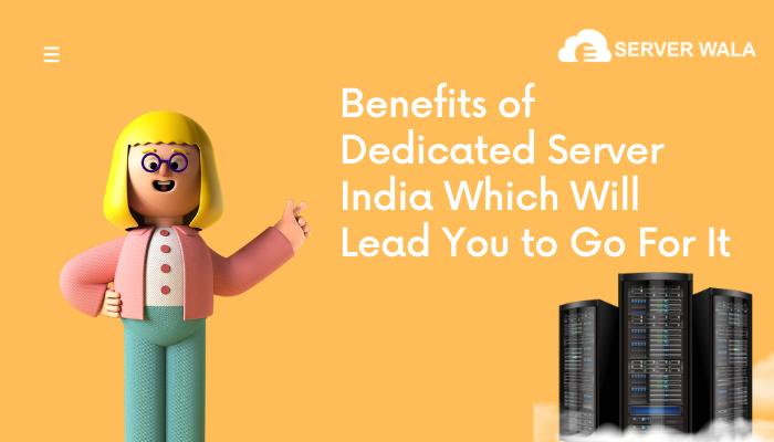 Dedicated Server in India