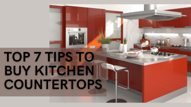 Top 7 tips to buy kitchen countertops