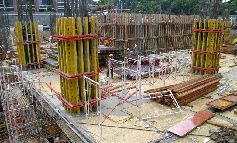 concrete shuttering hire