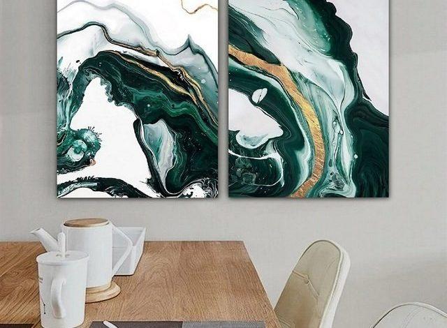 set of 2 wall art